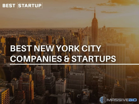 Best New York City Companies and startups
