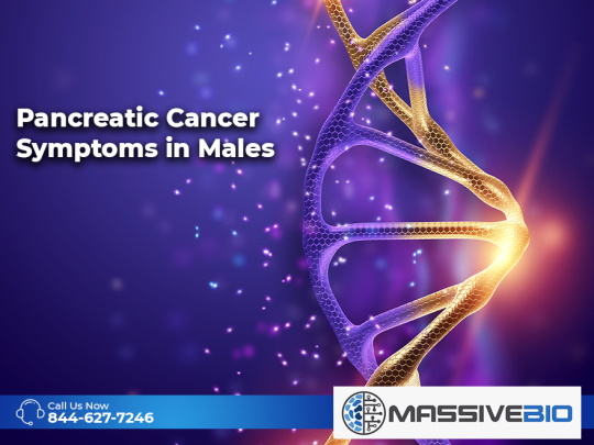 Pancreatic Cancer Symptoms in Males