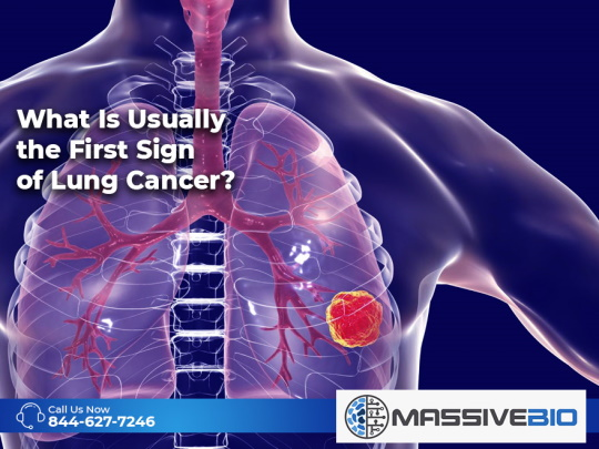 What Is Usually the First Sign of Lung Cancer?