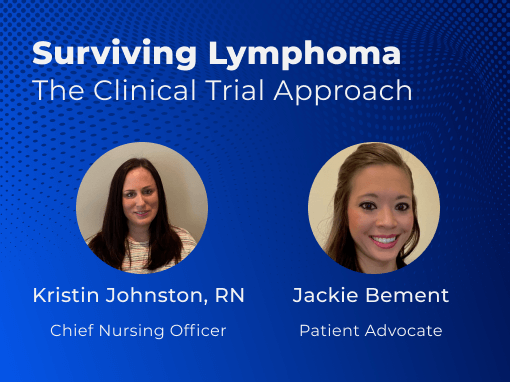 Surviving Lymphoma The Clinical Trial Approach